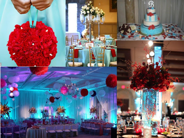 Tiffany Blue And Red Wedding Invitations: Fairy Tale Events Of New York: Inspiration: Tiffany Blue + Red