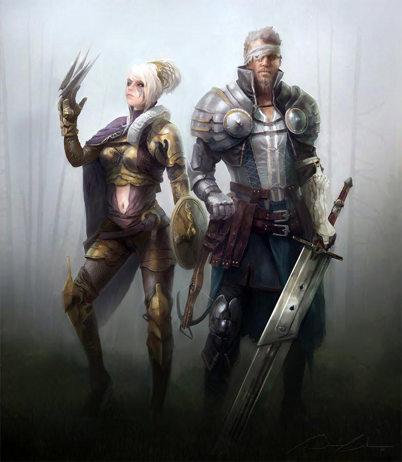 Inkertone: Medieval Knights