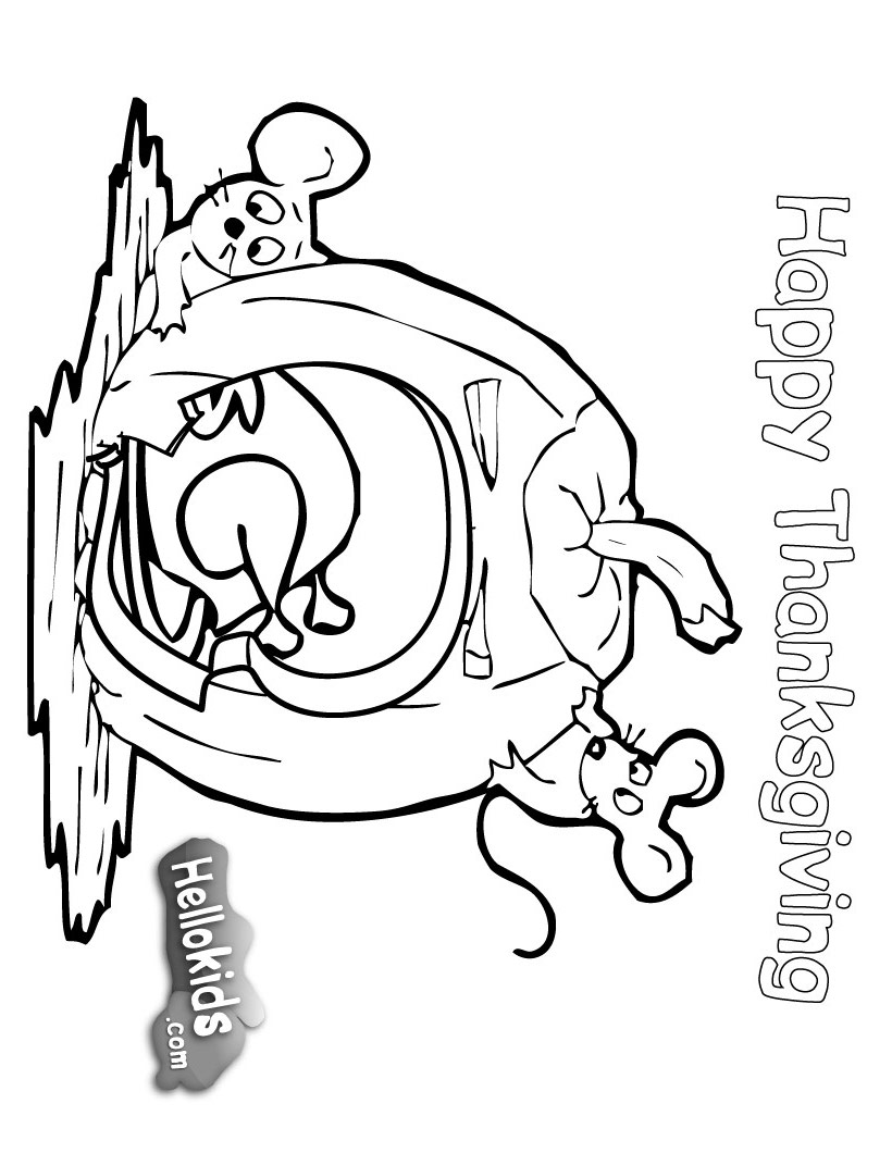 Thanksgiving Pumpkin Coloring Pages, Bounty Pumpkin ...