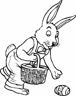 Easter Coloring Pages: August 2010