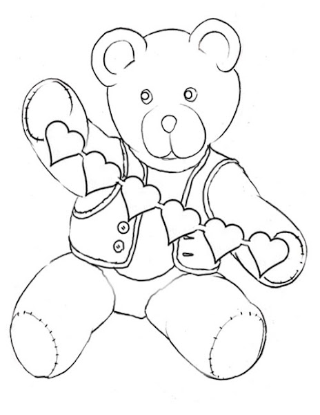 thanksgiving teddy bear coloring pages | Disney Thanksgiving Coloring Sheets – Colorings.net