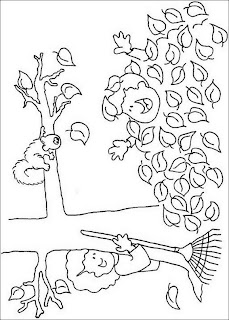 Thanksgiving Coloring Pages: Fall Coloring Pages, Fallen