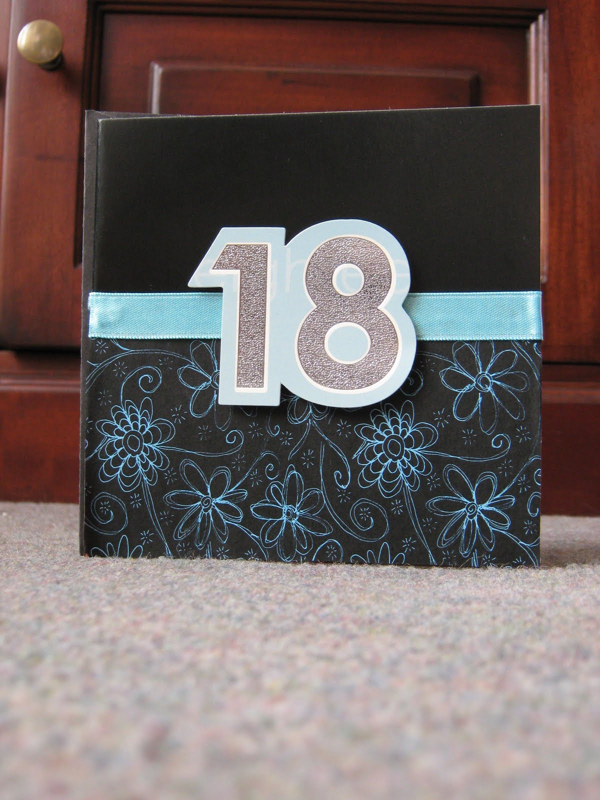 Clever Stuff :): 18th Birthday Card