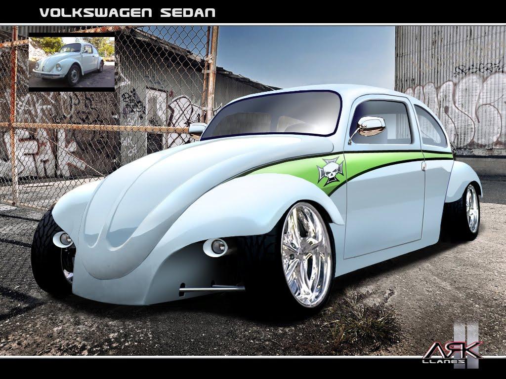 Virtual Tuning Design By Ark Llanes Vw Beetle Quot Sedan Quot Vocho