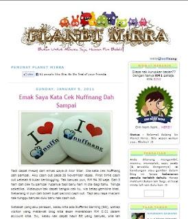 blog mirra yang comel