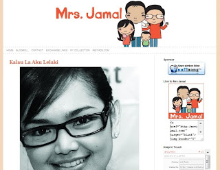 header blog mrs jamal yang cantik