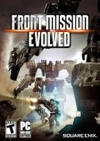 Front Mission Evolved, game, box, art, image, screen