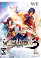 Samurai Warriors 3, nintendo, wii