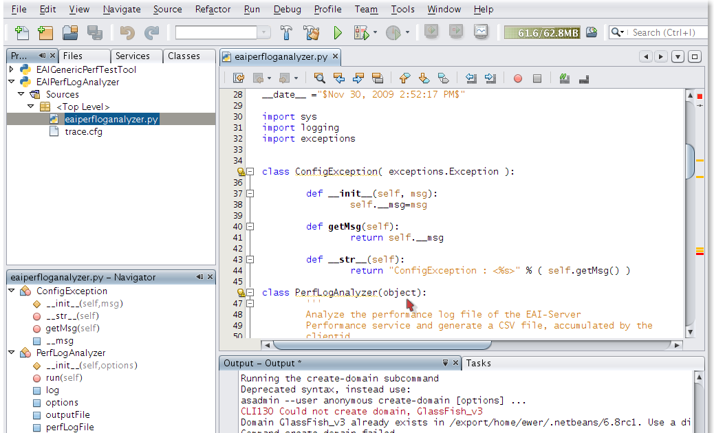 NetBeans 6 8 RC1 release - Python is available | an