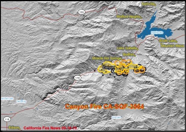 Lake Isabella Fire Map.Cfn California Fire News Cal Fire News Updated Canyon Fire Ca