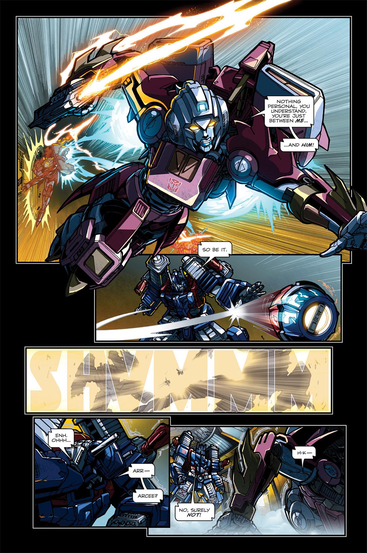 Read online Transformers: Spotlight - Arcee comic -  Issue # Full - 9