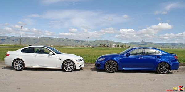 Bmw M3 E92 Vs Lexus Is F