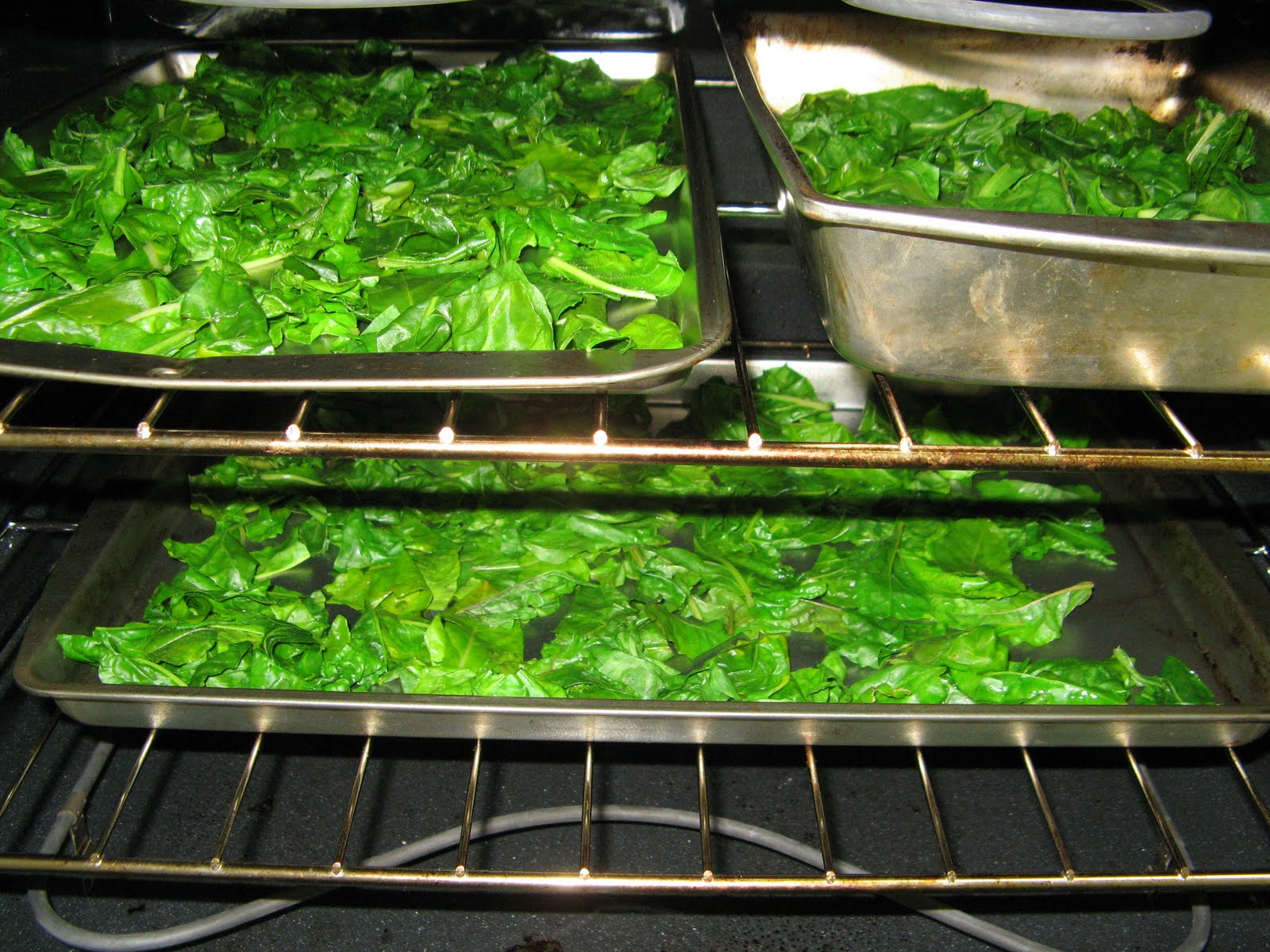 how to cook swiss chard in oven