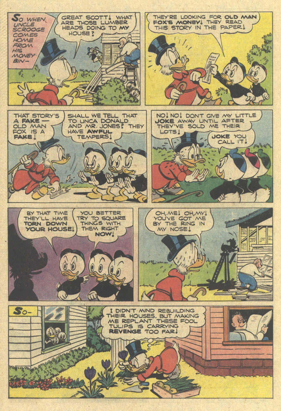 Read online Uncle Scrooge (1953) comic -  Issue #167 - 32