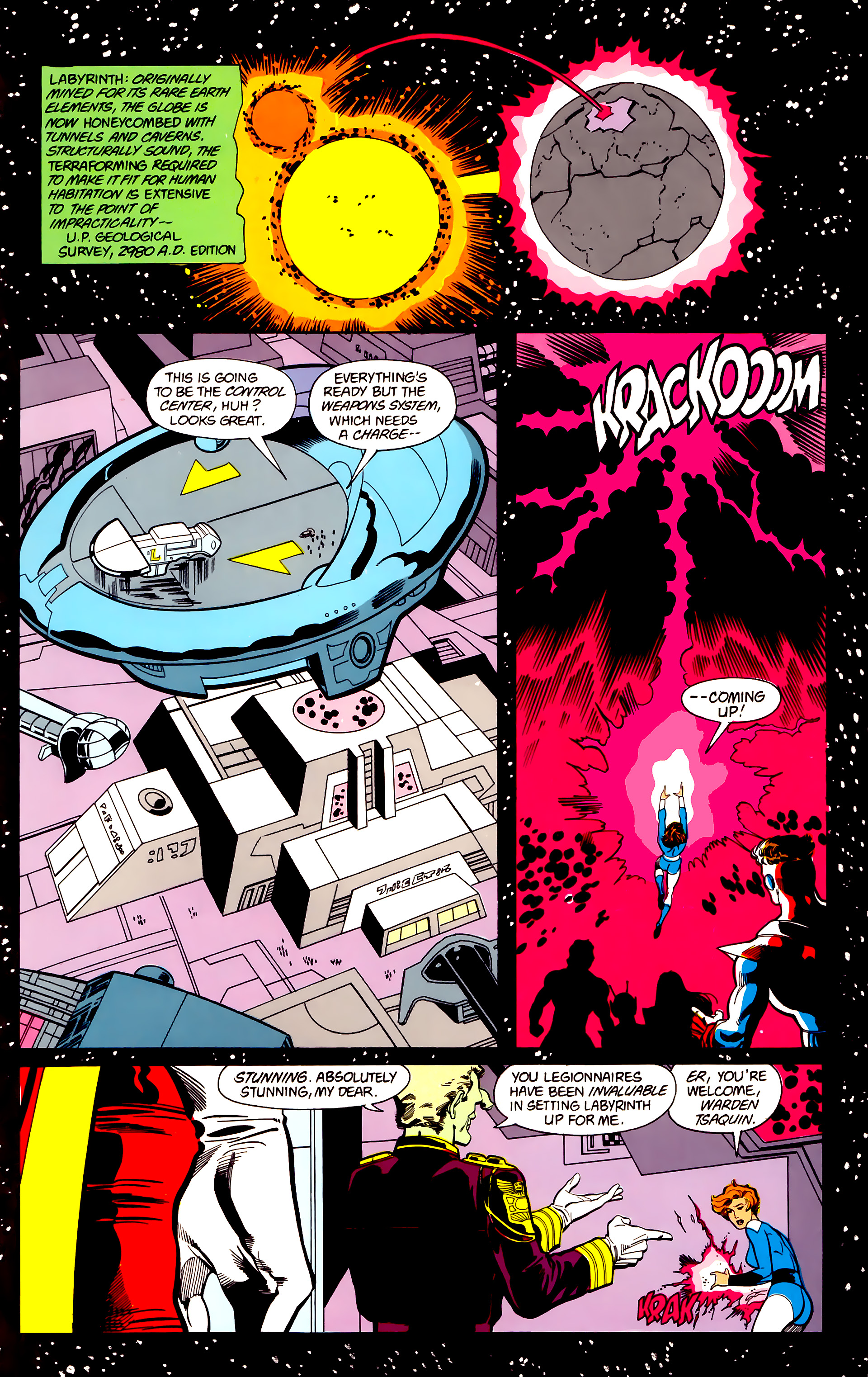 Legion of Super-Heroes (1984) 22 Page 16