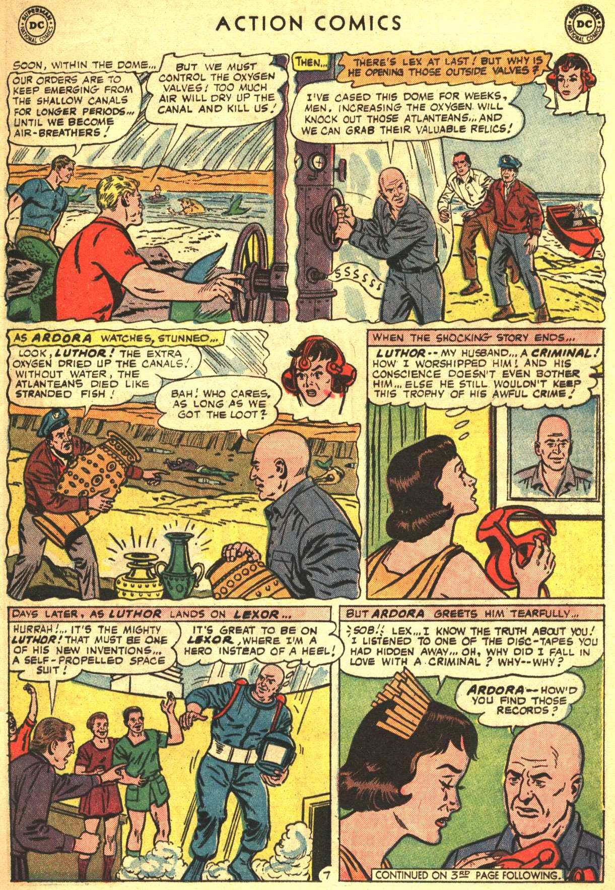 Read online Action Comics (1938) comic -  Issue #332 - 9