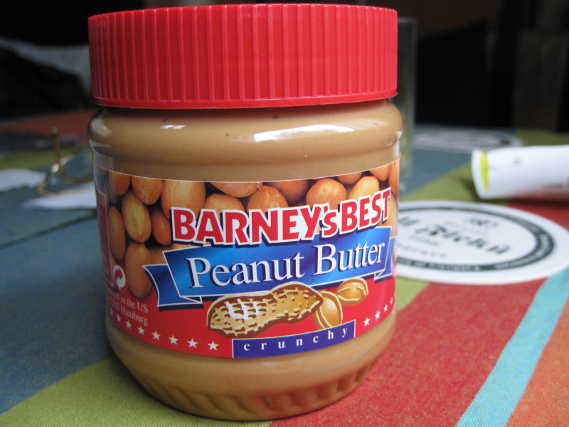 Peanut butter in germany
