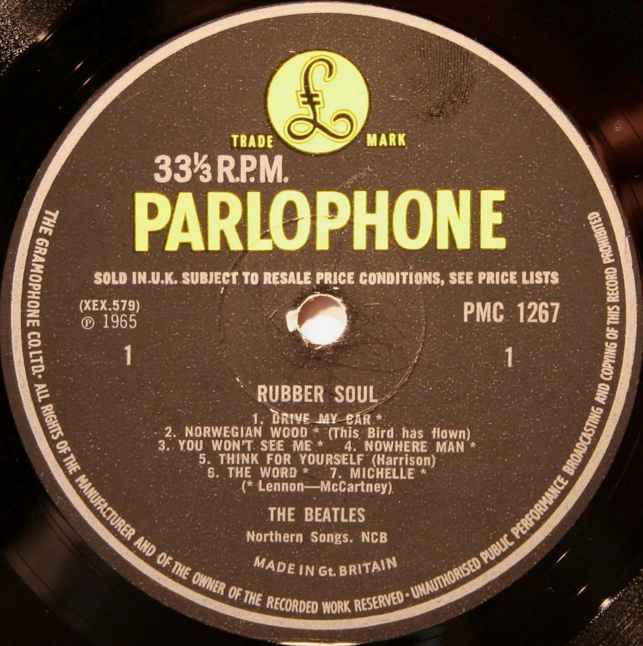 I Got Your Back Beatles Rubber Soul 1966