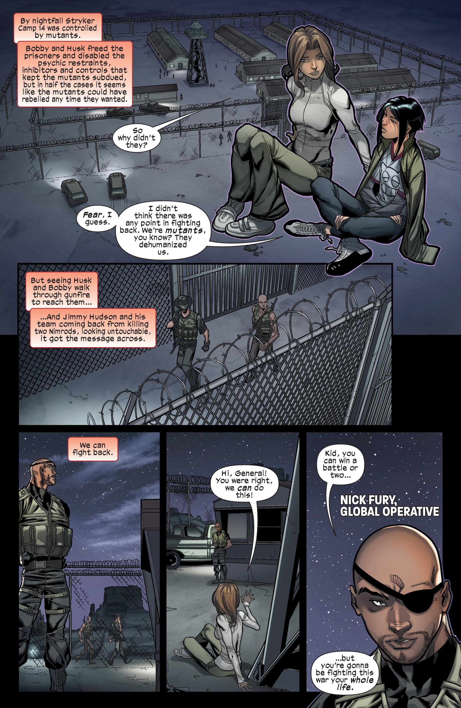 Read online Ultimate Comics X-Men comic -  Issue #17 - 18