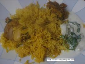 Swathi S Kitchen Chicken Pulao