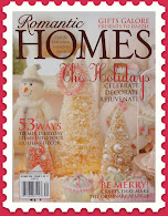 Romantic Homes 09 ~ My home made the Cover