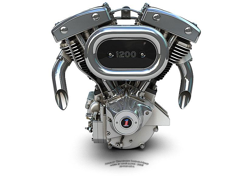 Harley Shovelhead Engine Design
