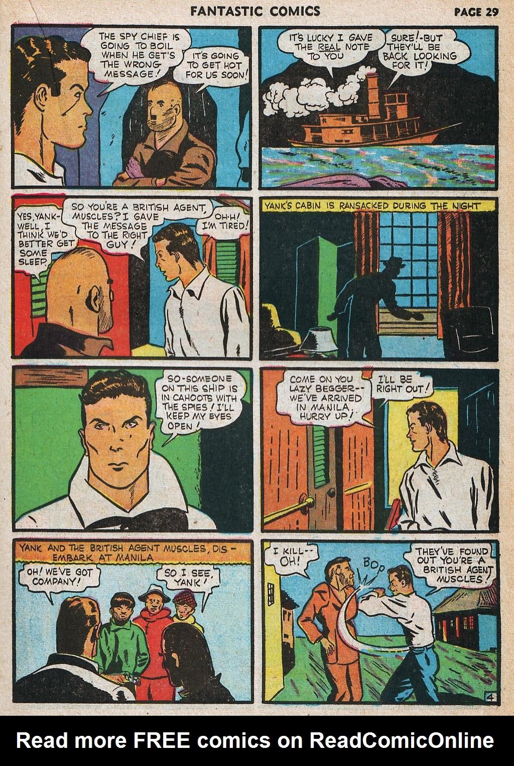 Read online Fantastic Comics comic -  Issue #20 - 30