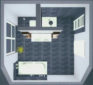 Bad mit t wand  Abfluss reinigen mit hochdruckreiniger