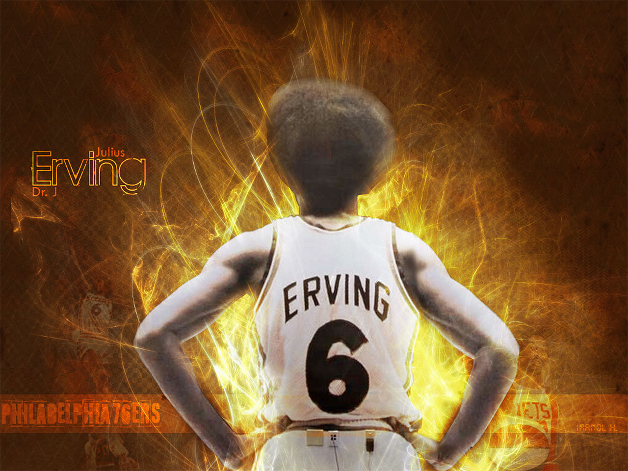 Top NBA Wallpapers: Julius Erving Wallpapers