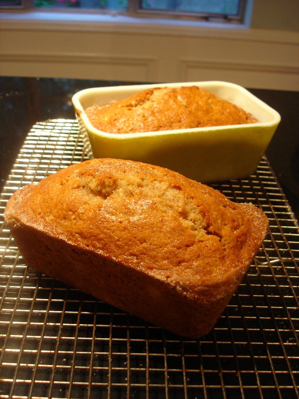 What We Cook: Mini Hawaiian Banana Bread Loaves ~ page 320