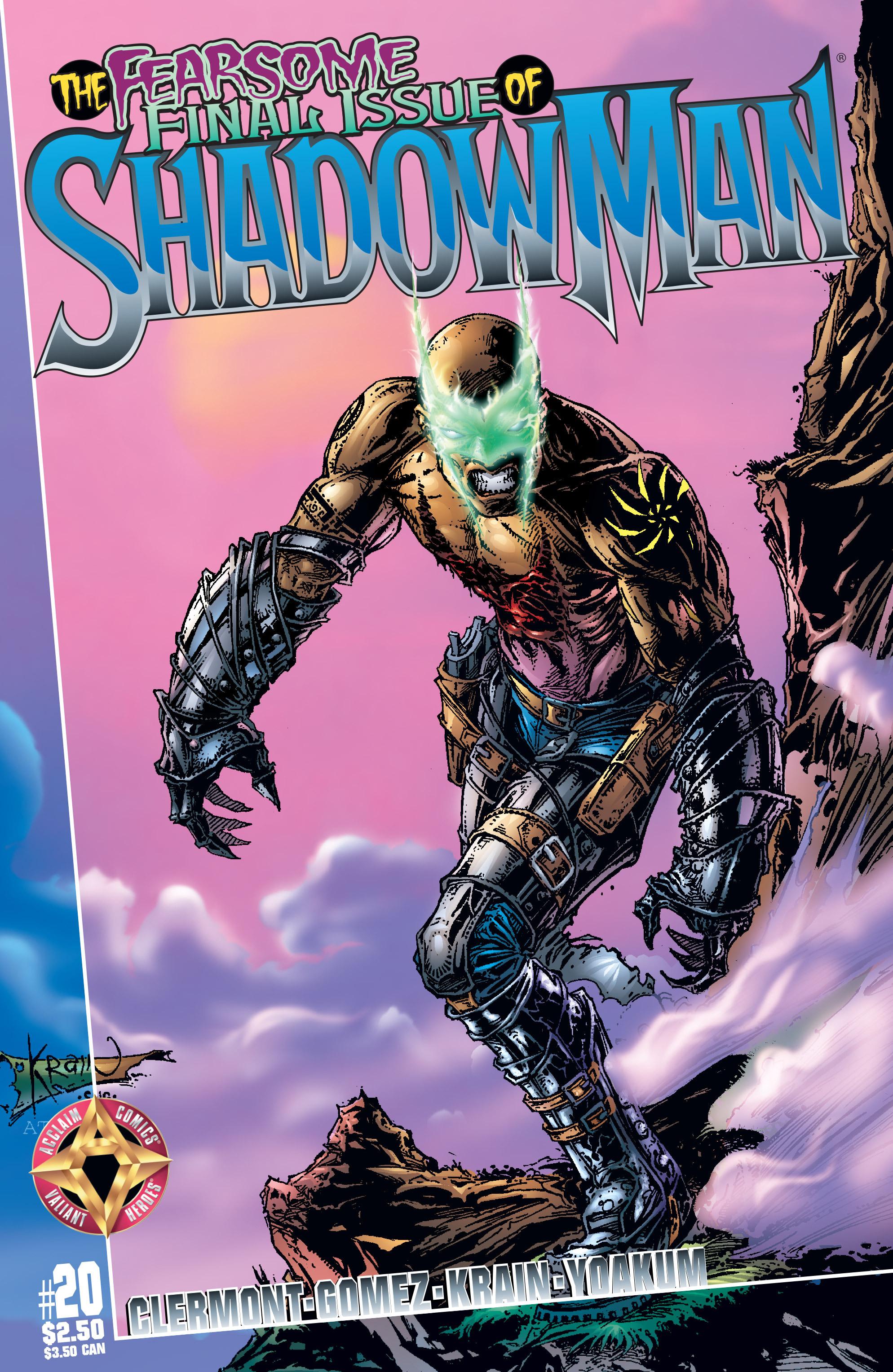Read online Shadowman (1997) comic -  Issue #20 - 1