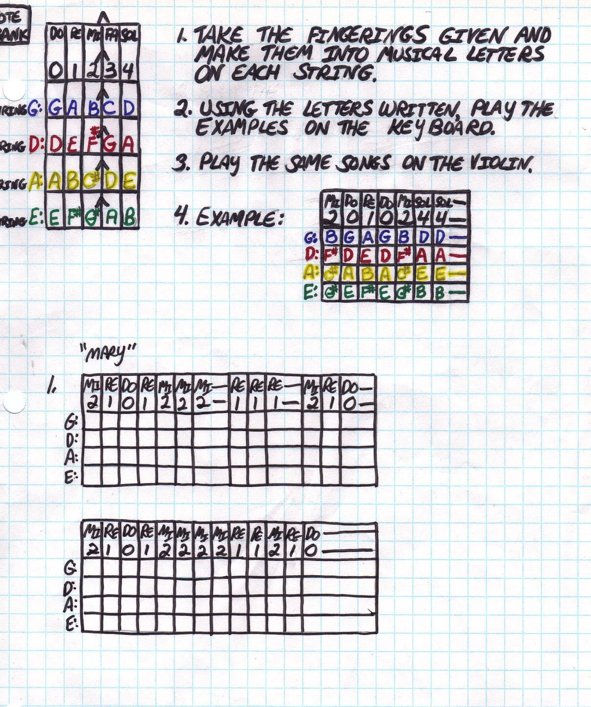 Miss Jacobson's Music: VIOLIN BEGINNING CLASS SONGS #2b