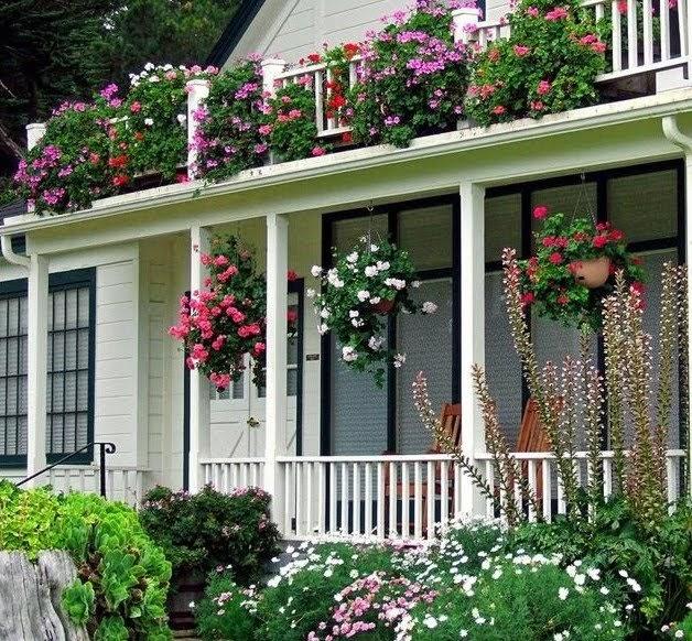 Confetes ao vento 10 coisas casas fofas - Casas con jardines bonitos ...