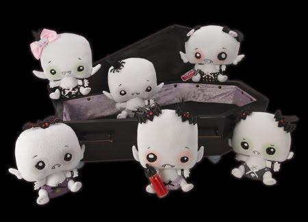 Vamplets plush baby vampires at SDCC booth 4149 + giveaway