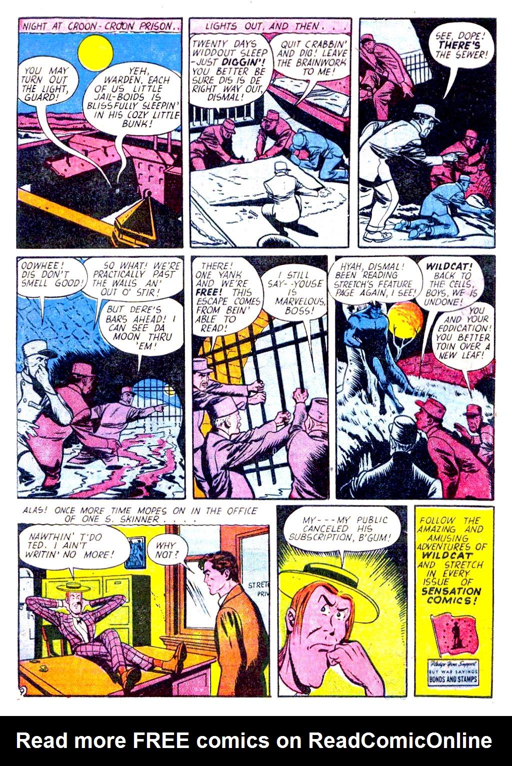 Read online Sensation (Mystery) Comics comic -  Issue #29 - 57