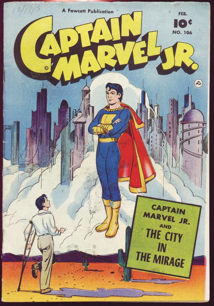 Captain Marvel, Jr. 106 Page 1