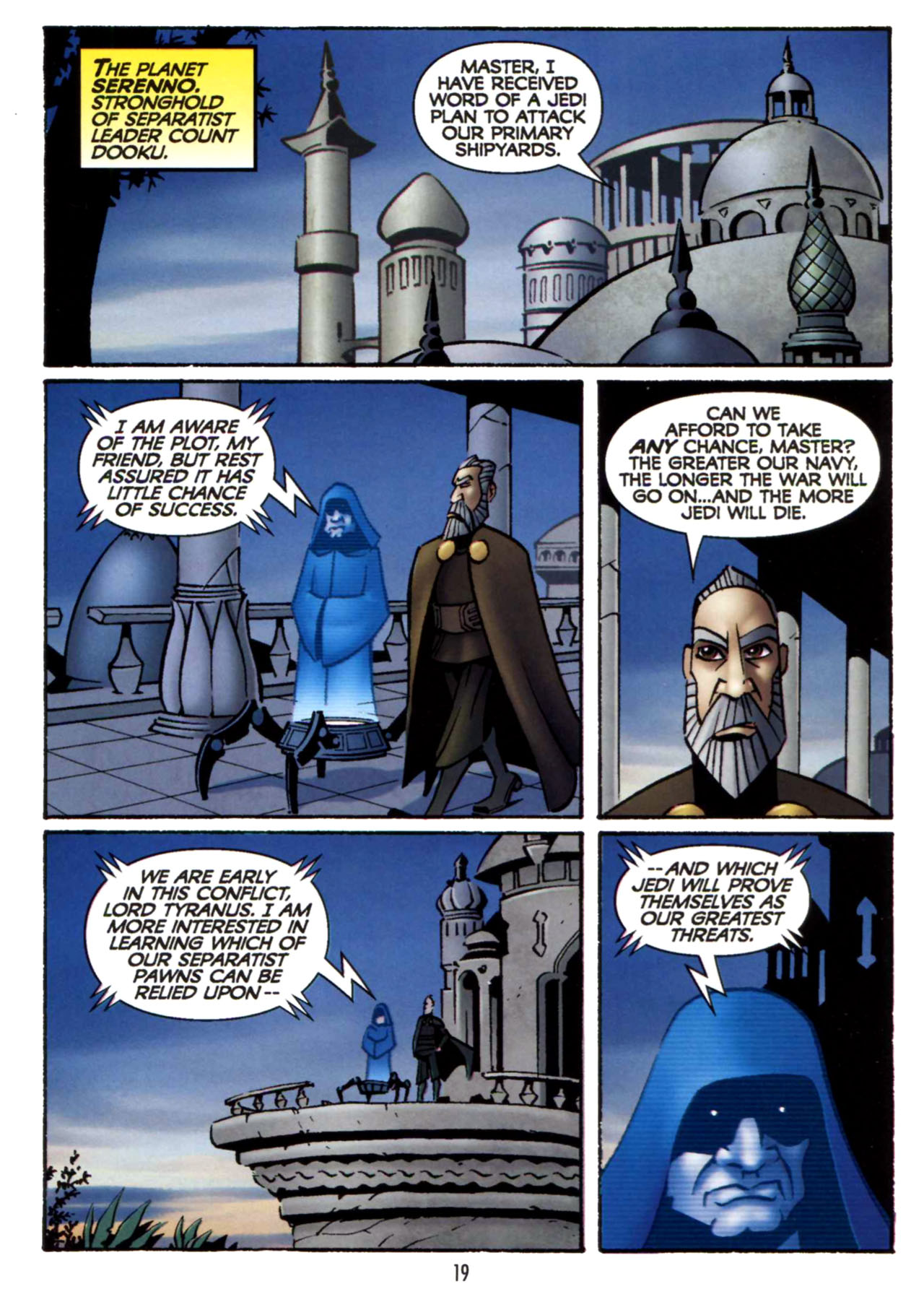 Read online Star Wars: The Clone Wars - Shipyards of Doom comic -  Issue # Full - 18