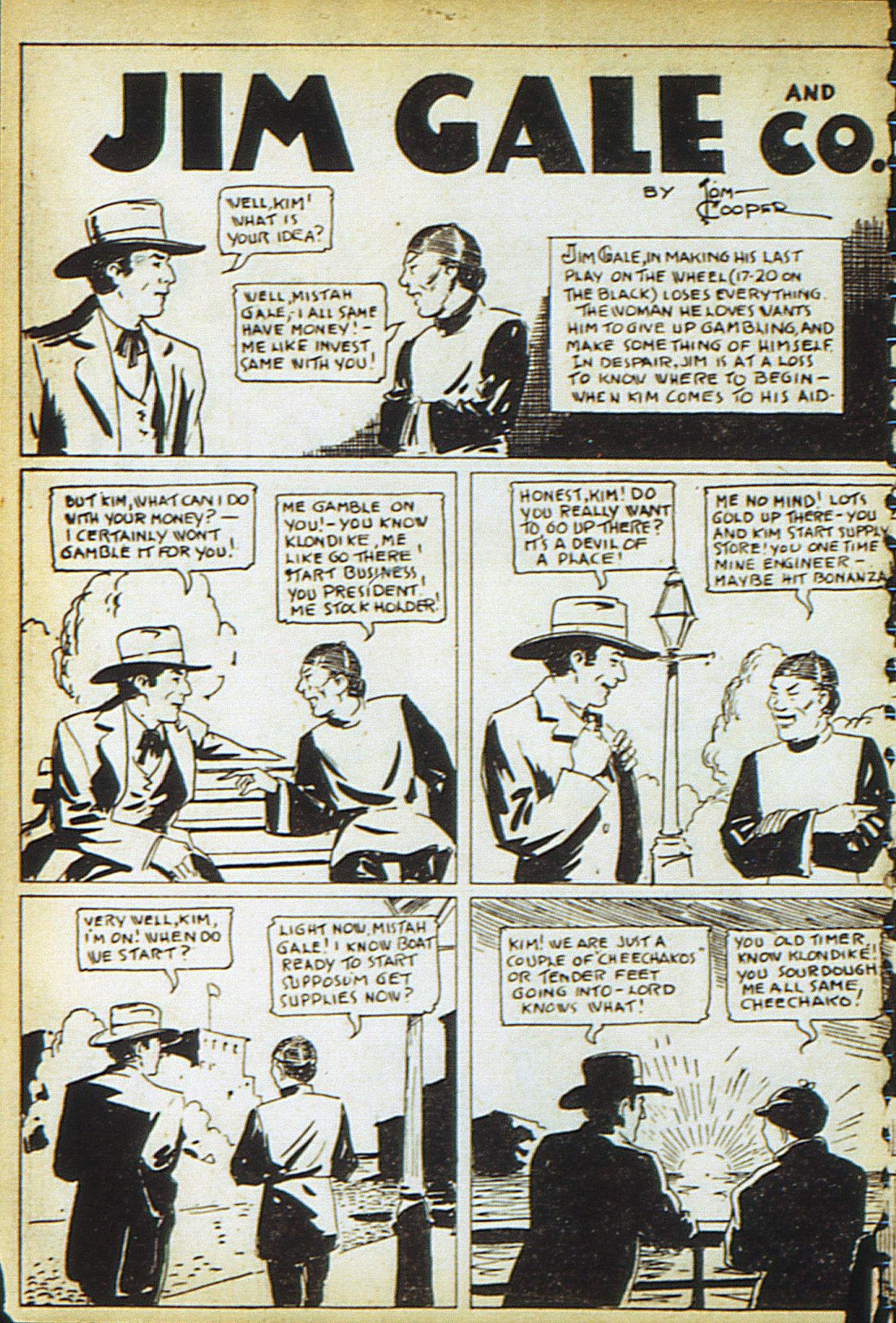 Read online Adventure Comics (1938) comic -  Issue #13 - 28
