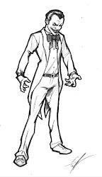 drawings gangster drawing easy sketch clown joker pencil various few getdrawings