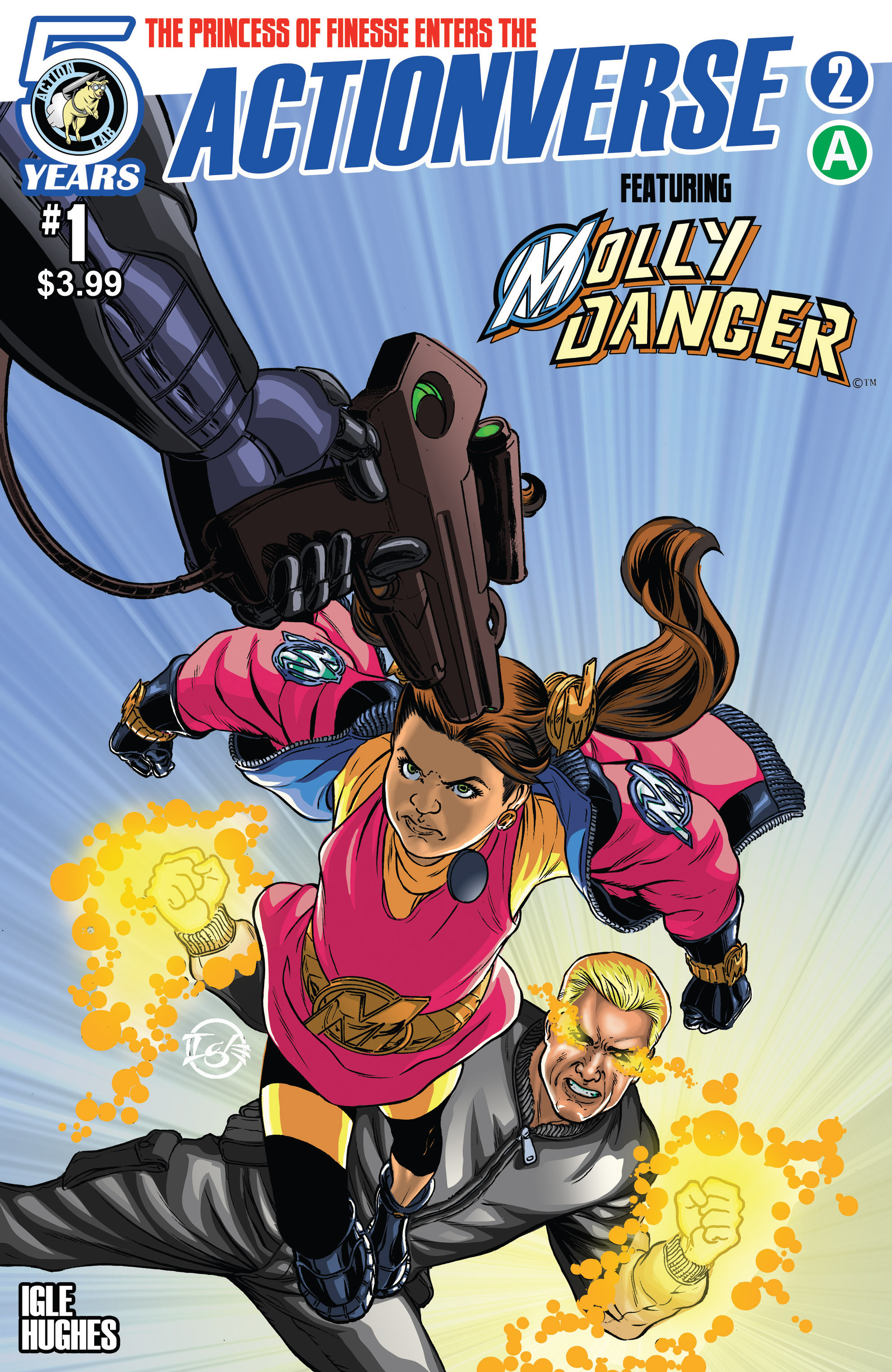 Read online Actionverse comic -  Issue #2 - 1