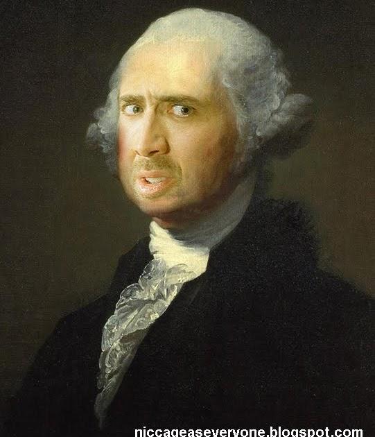 Nic Cage As Everyone: Nic Cage As George Washington