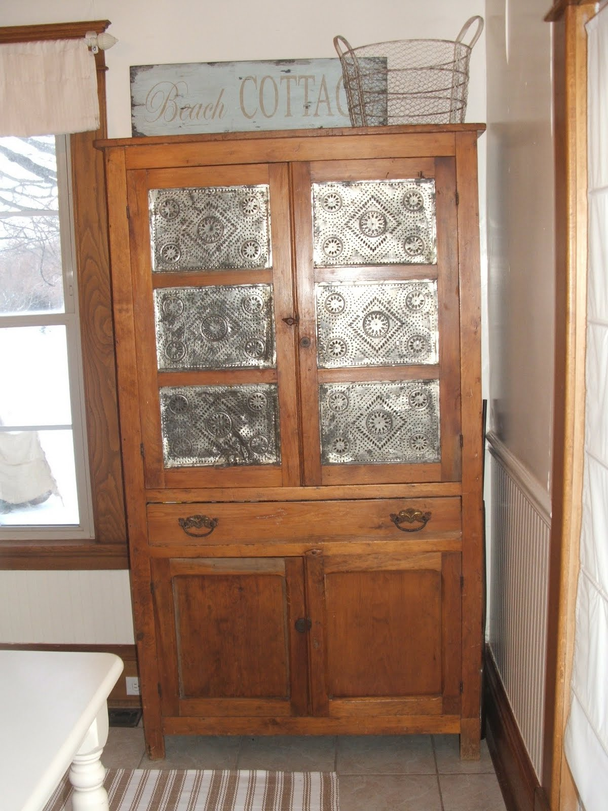 Old Antique Pie Safe