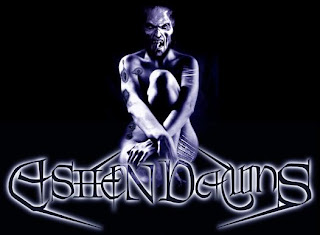 Ashen Dawns, goth band logo