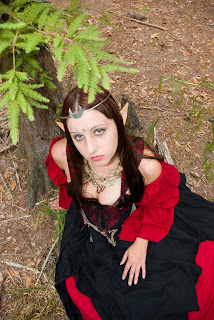 Elven Alice Malice as an Elf