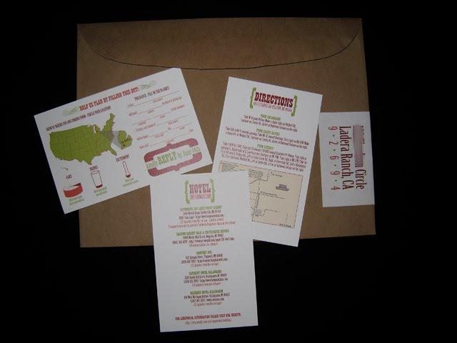 Wedding Invitation Map Maker: Pretty Paper Trail: June 2010