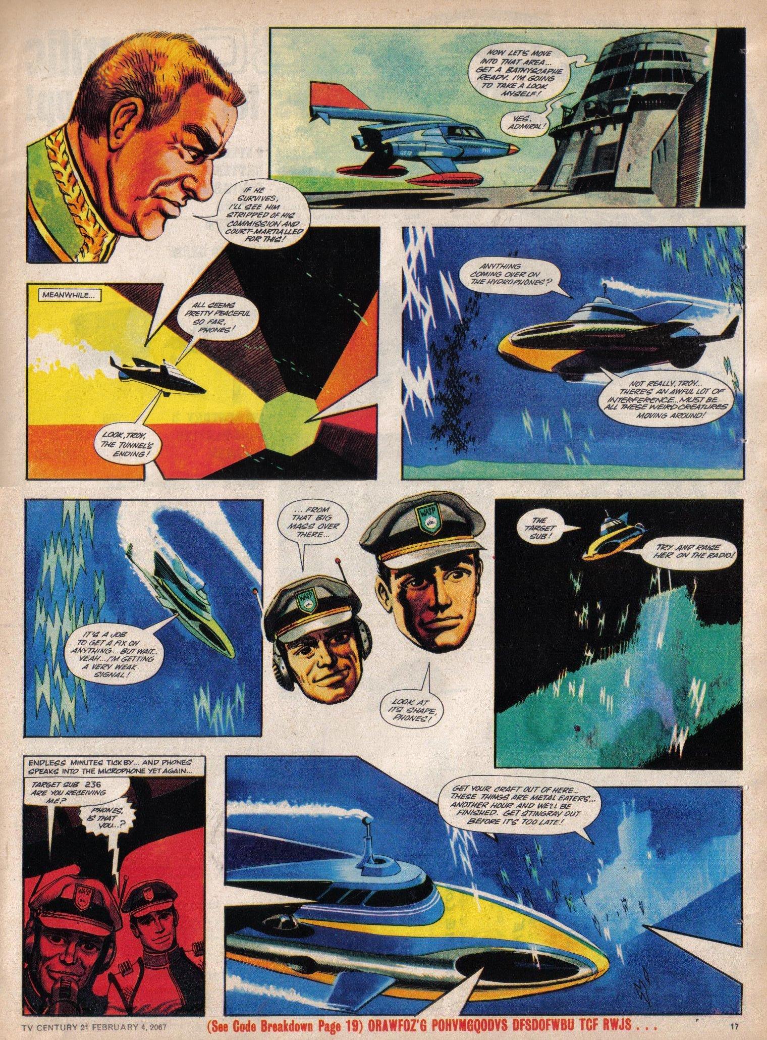 Read online TV Century 21 (TV 21) comic -  Issue #107 - 16