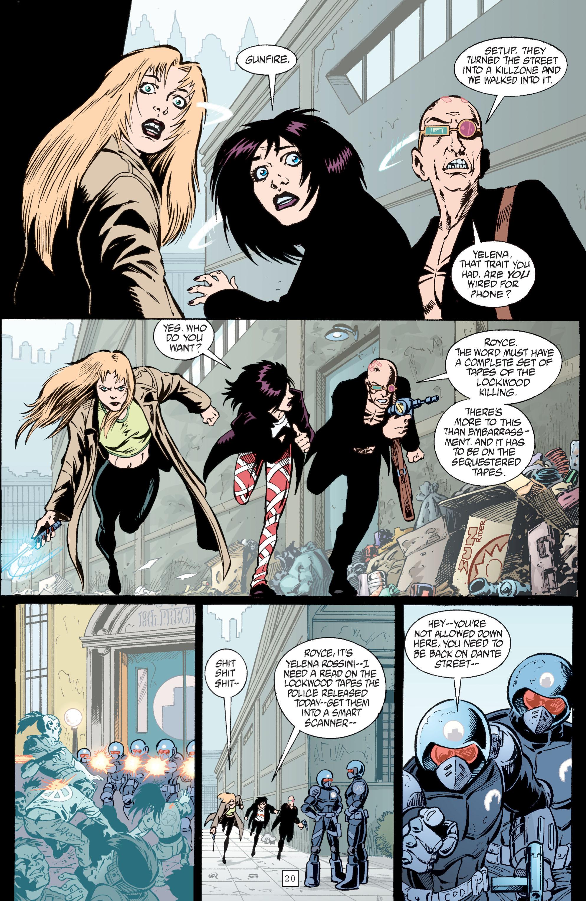 Read online Transmetropolitan comic -  Issue #29 - 21