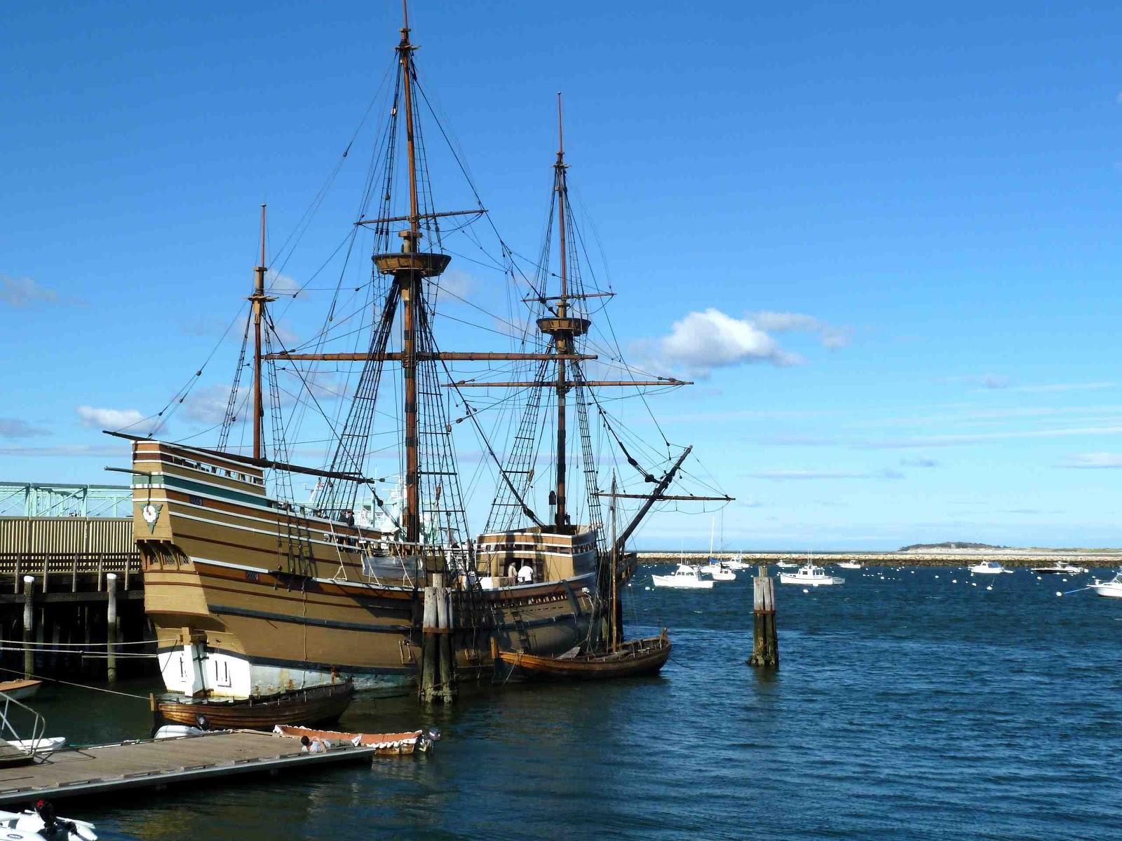 New england 2010 plymouth ma pilgrims mayflower the for Designermobel nachbau england