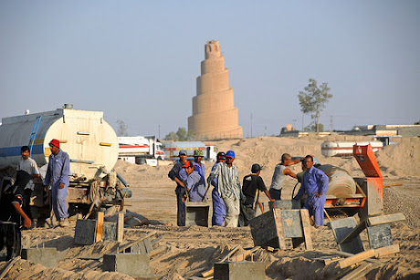 Samarra Minrate built in 852 AD