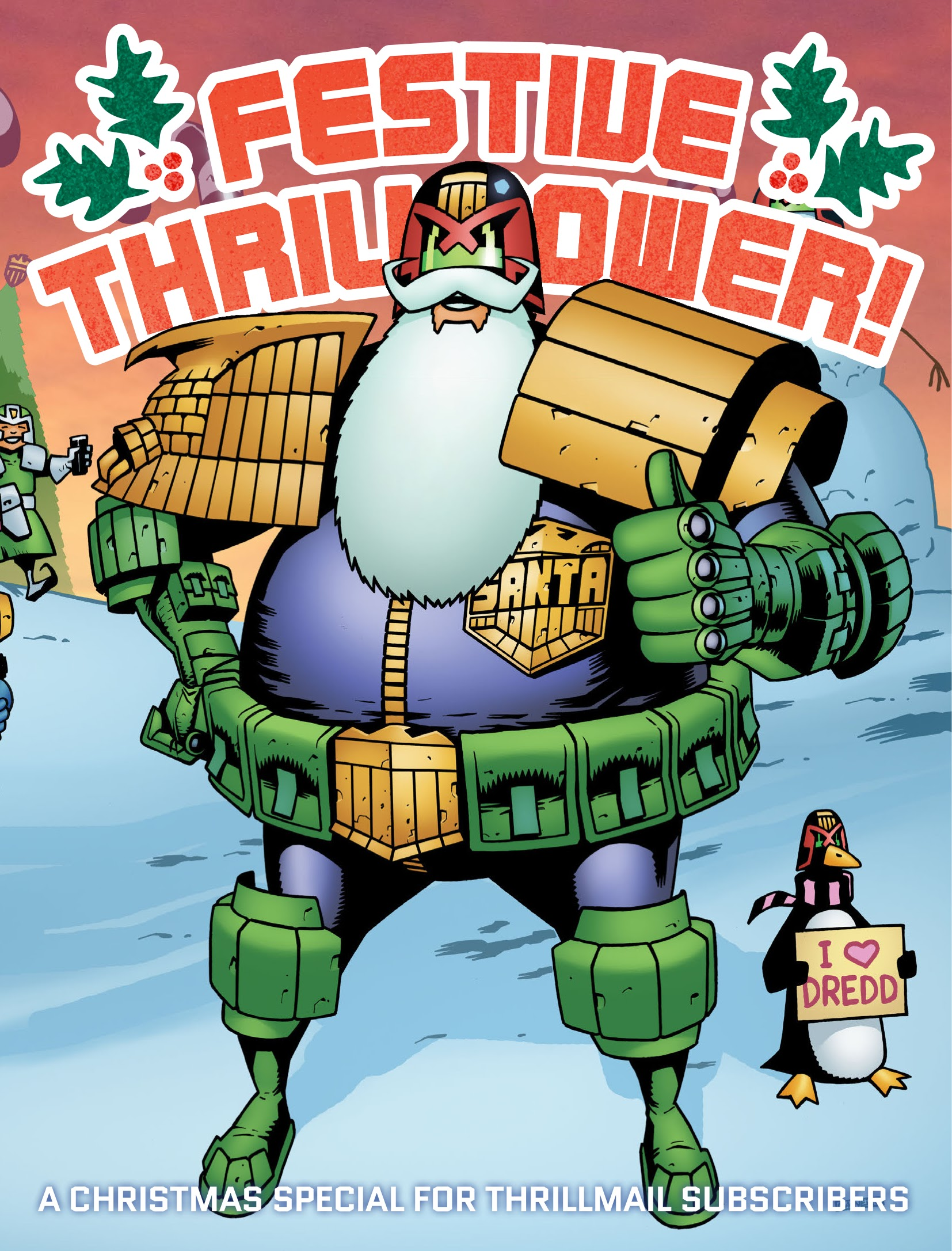 Festive Thrillpower issue TPB - Page 1